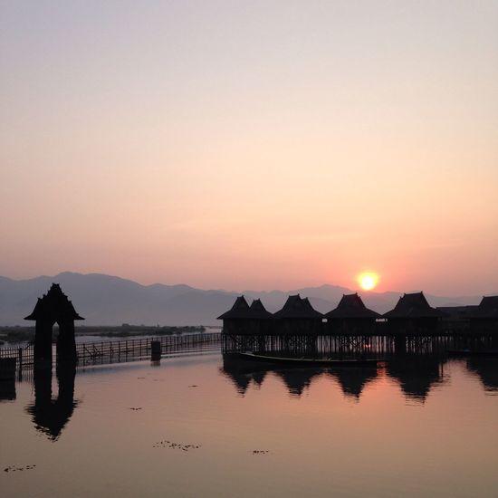 Landscape_Collection Myanmar Sun Rise Enjoy