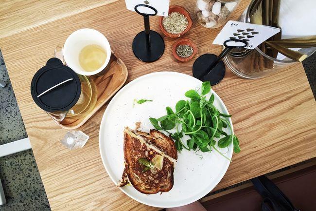 Foodddd | Cafe Hopping Tea Foodporn The Foodie - 2015 EyeEm Awards EyeEm Best Shots EyeEmBestPics IPhoneography Vscocam On The Table Flatlay