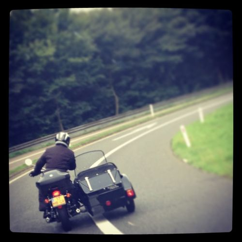 Nice to see how someone totaly give in to his ride Motorcycles Go With The Flow