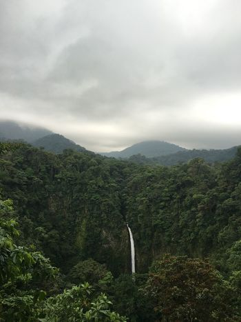 The Great Outdoors With Adobe Waterfall Fog No Filter La Fortuna Costa Rica