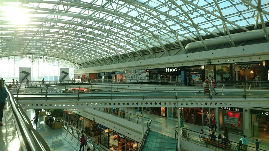Public Transportation Built Structure Architecture Large Group Of People Day People Shopping Mall Shopping Mall Design Portugal Lisbon - Portugal Lissabon,