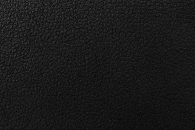 Textured  Backgrounds Textile Material Close-up Pattern Black Color Leather Black Background Dark Background