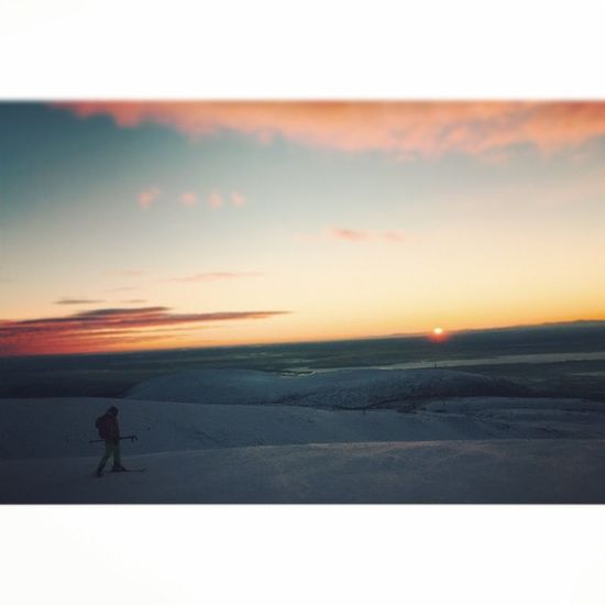 Kirovsk Khibiny Bigwoodyar Mountains Sunset Sky Ski Snow Murmanskregion Bigwood Sun Beautiful Beautifulsky Slope Russia хибины кировск мурманскаяобласть небо красивоажжуть горныелыжи склон Россия большойвудъяр Закат