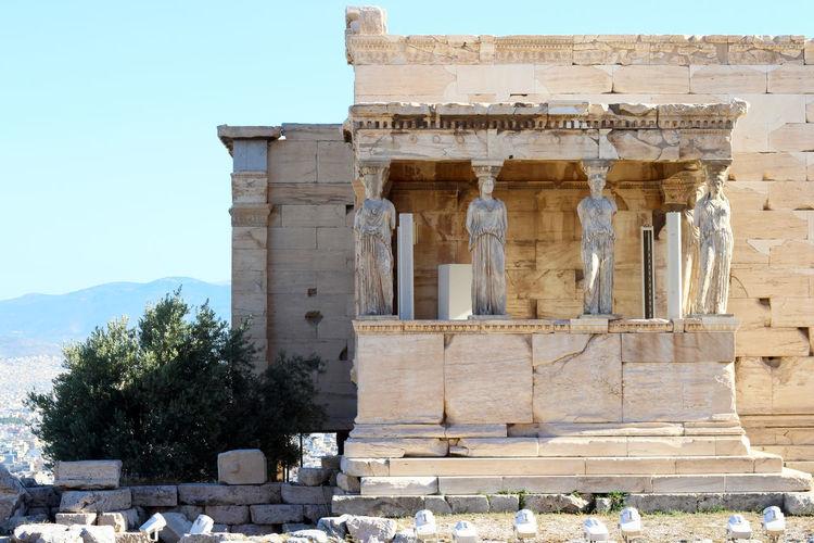 Ancient Ancient Civilization Ancient Greek Architecture Athens Athens, Greece Culture Day Marble No People Tourist Attraction  Tourist Destination