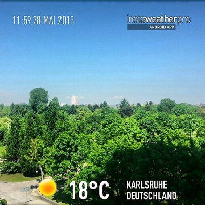 Middach ;-) Weather Instaweather Instaweatherpro Android androidnesia instagood Karlsruhe Deutschland