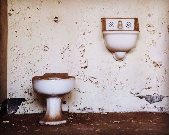No thanks Indoors  Bathroom No People Damaged Canon Canonphotography Michellerobertsonphotography Abandoned Buildings Jailhouses Fort Ord, Ca Abandoned Military Base Military Prison Peeling Paint Creepy Abandoned Prison Dirty Drity Toilet Dirty Bathroom Urinal Day Close-up Toilet Bowl