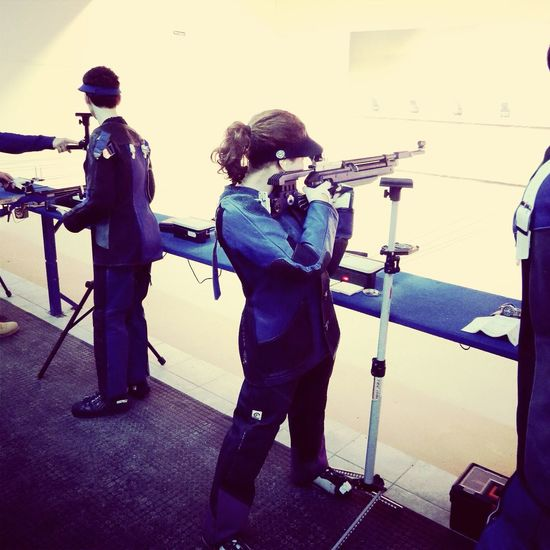Shooter Challenge Accepted Winner ! Shooting Team Tsn Foggia Riffle