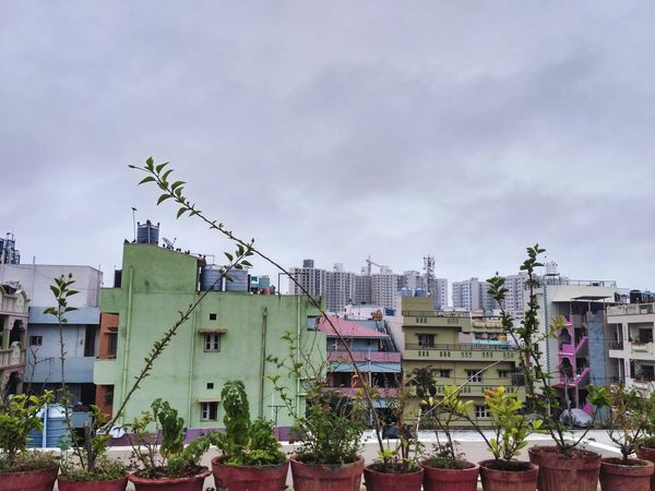Outdoors Sky City Building Exterior Cityscape No People Bangalore Day Apartment Bengaluru India