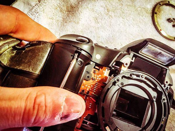 Taking apart the Canon Canon Repair
