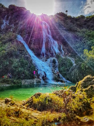 Busay falls ,