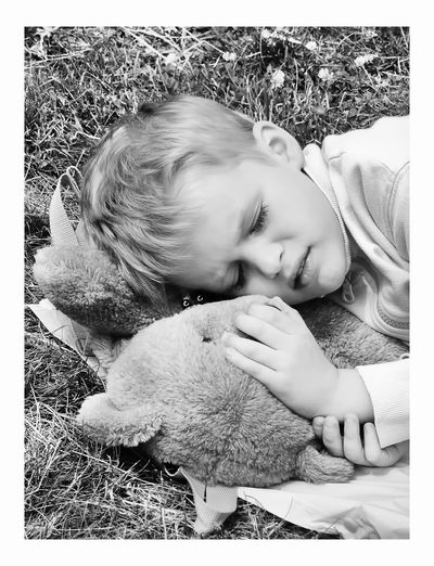 Piotr Adamczyk Photography Auto Post Production Filter Boys Child Childhood Cute Eyes Closed  Females Girls Innocence Leisure Activity Lifestyles Lying Down Males  One Person Real People Relaxation Transfer Print