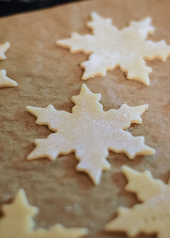 Christmas cookies thinly rolled and cut out in star shape saying the German words Frohes Fest, which means Happy Holidays, on parchment paper on baking sheet about to go in the oven to be baked Baking Cookies Butter Cookies Christmas Cookies Cookies🍪 Shape Baking Close-up Cookie Dough Food Food And Drink Frohes Fest Germany High Angle View Indoors  Kitchen No People Preparation  Shape Star Sugar Cookie Sweet Food