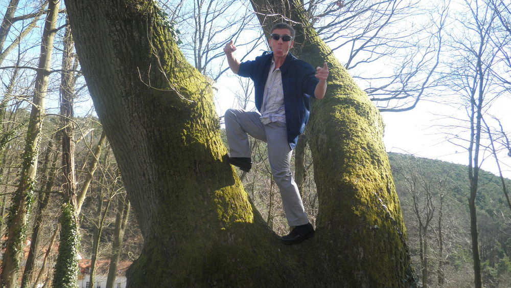 Day Full Length Getting Away From It All Lifestyles Outdoors Standing Stone Three Quarter Length Tree Trunk Working To A Brief Self Portrait Around The World Landstuhl Model Learn & Shoot: Working To A Brief Me, My Camera And I Well Turned Out That's Me! Landstuhl Pastel Power Q