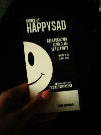 Concert Tickets Concert Music Happysad