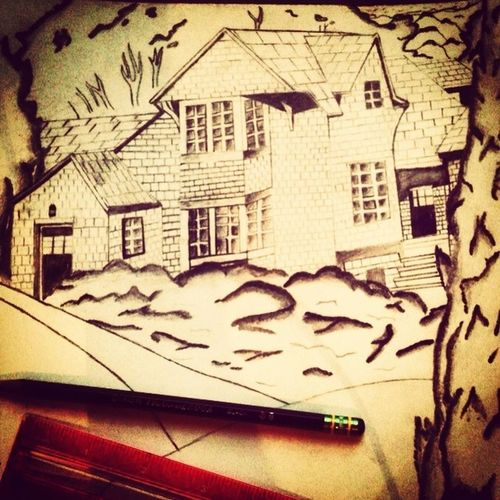My First Architectual Sketch