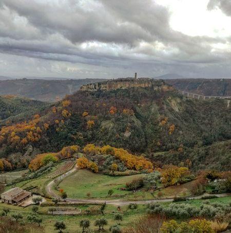 la città che muore Civitadibagnoregio Lazio Landscape Cloud - Sky Rural Scene Outdoors Nature Scenics Beauty In Nature No People Tranquility Mountain