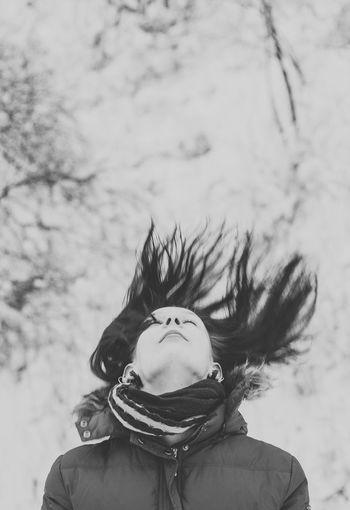 Beautiful Girl Enjoying Life Nikon Taking Photos Monochrome Photo Eyem Best Shots Black & White Portrait