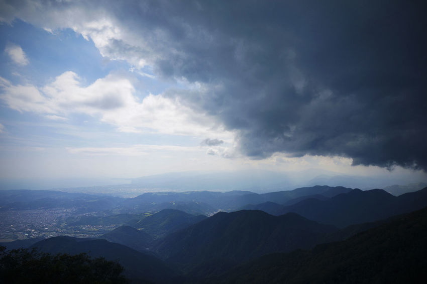 Cloud - Sky Landscape Mountain Mountain Range Mountain Ridge Nature Outdoors Scenics Sky 塔ノ岳