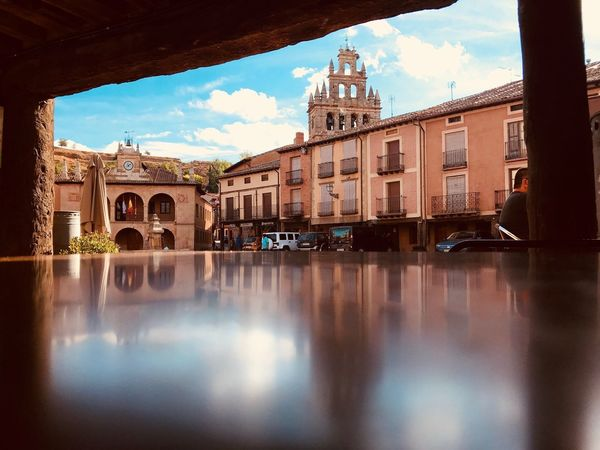 Plaza Mayor Architecture Building Exterior Built Structure Water Sky Reflection Waterfront A New Beginning