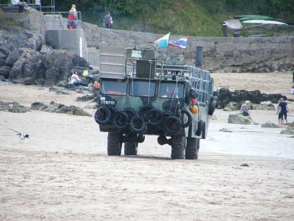 Amphibian Amphibious Vehicle Day Land Vehicle Outdoors Russian Truck Sea Vehicle Caldey Island Pembrokeshire Coast Pembrokeshire