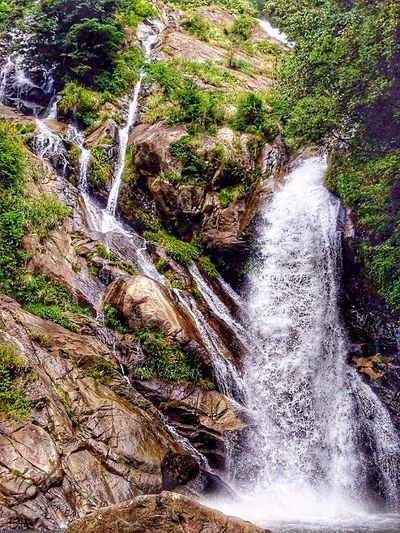 Beauty In Nature Mountains And Valleys Waterfalllovers Waterfall #water #landscape #nature #beautiful Motion Blur Japan Photography InKaratsu