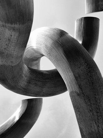 Black And White Urban Art Curves And Lines Kudamm Kurfürstendamm