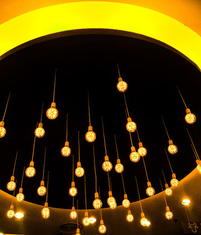 First Eyeem Photo Light And Shadow Interior Lights Colorful Yellow Background Background Texture Rooftop Building Material_design Designs EyeEmNewHere