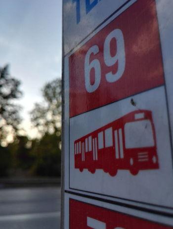 Communication Text Sign Symbol Bus 69👌