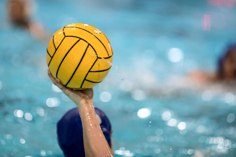 Water Polo Water Yellow Sport One Person Sea Focus On Foreground Day Nature Human Body Part Outdoors Ball Body Part Childhood Leisure Activity Child Close-up Portrait Healthy Lifestyle Human Limb Floating On Water Water Polo Player Water Polo Game