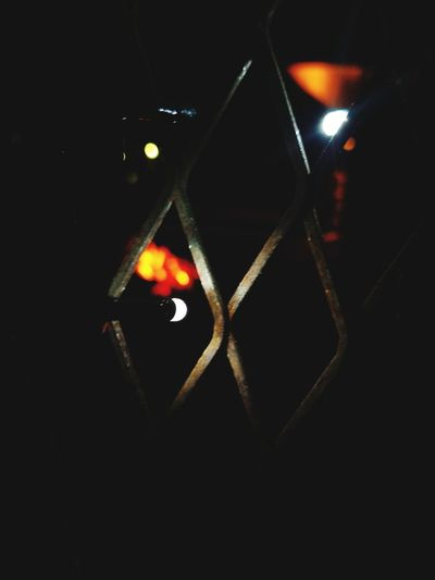 No People Illuminated Close-up Black Background Night