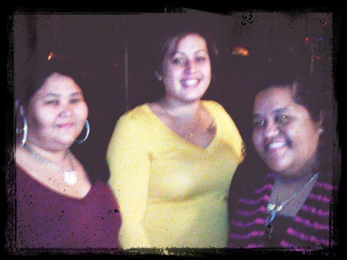 christmas party 4 da job. me, shy and kamai the best co-workers ever