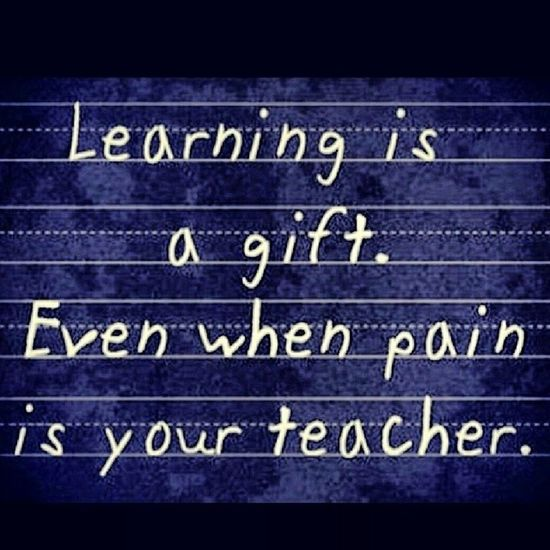 So very true. Alwayskeeplearning LearnFromYourMistakes Progress Onlymovefoward