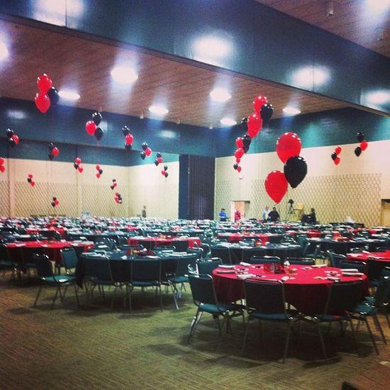 700 fucking people we catered for... Texastech RedRaiders JoshAbbott Fuddruckers