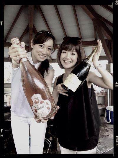 Happy Birthday! BBQ 飲むぞ~♪ 肉食女子会。 なかよーし^ ^