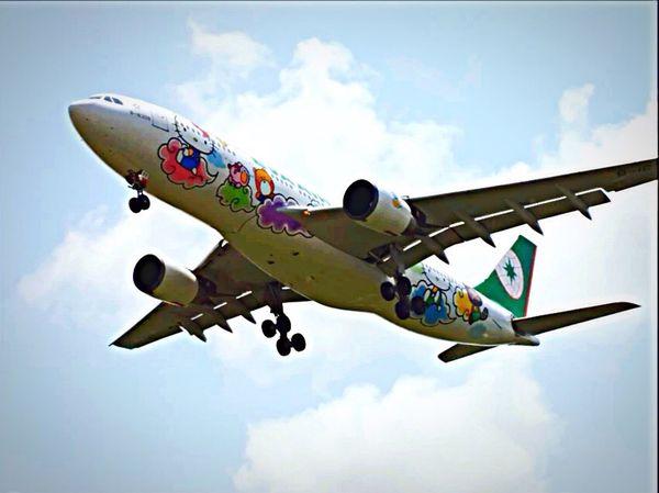 EVA air A330-200 B-16309 Hi!hello Kitty😍