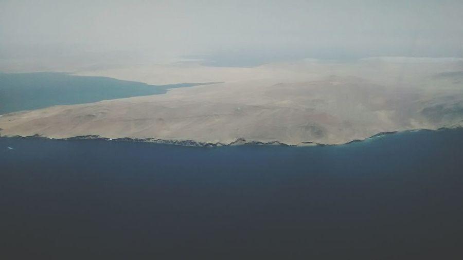 Pisco,peru Taking Photos Candelabro Over 1000ft
