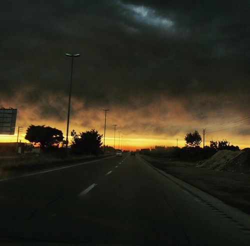 amol road-iran On The Way Golden Moment