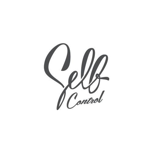 Self Selfcontrol Typography Calligraphy