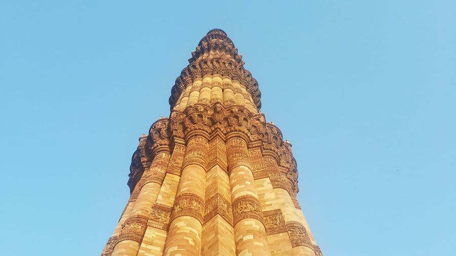 Qutub Travel Sky Religion Travel Destinations City History Large No People Outdoors Ancient Civilization Day