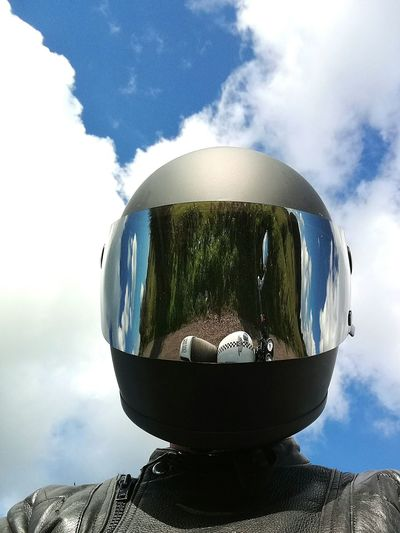 Enjoy The New Normal Headwear One Person Cloud - Sky Sky Headshot Front View Astronaut Day Futuristic Helmet People Protective Mask - Workwear Airplane Nature Protective Workwear Outdoors Fighter Plane One Man Only Adult Adults Only