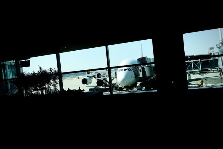 Korea Photos Returning Home Airplane Airport Light And Shadow In The Terminal Darkness And Light Taking Photos Streamzoofamily Friends Streamzoofamily