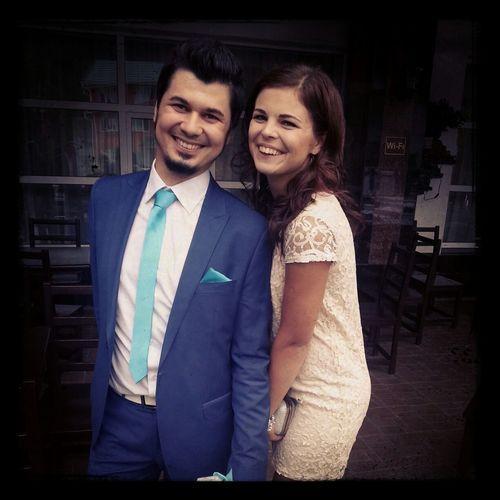 любимый братик женился :)
