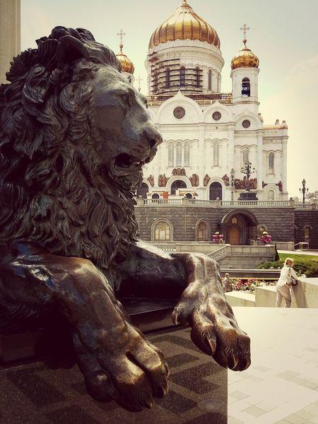 Moscow ХрамХристаСпасителя Architecture Beautful
