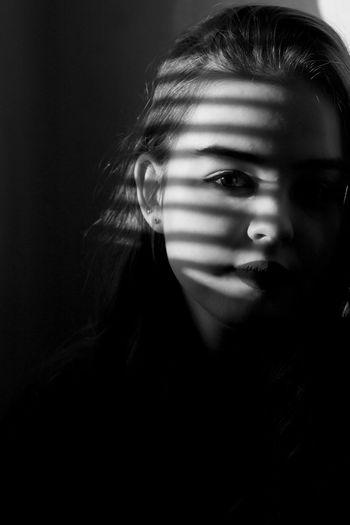 черно-белое Girl Foto VSCO