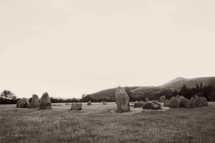Castlerigg stone circle in TheLake District Beauty In Nature Castlerigg Castlerigg Stone Circle Day Environment Field Grass Land Landscape Megaliths Nature No People Plant Scenics - Nature Sky Standing Stones Stone Circle Stone Circle Religous Landscape Tranquil Scene Tranquility