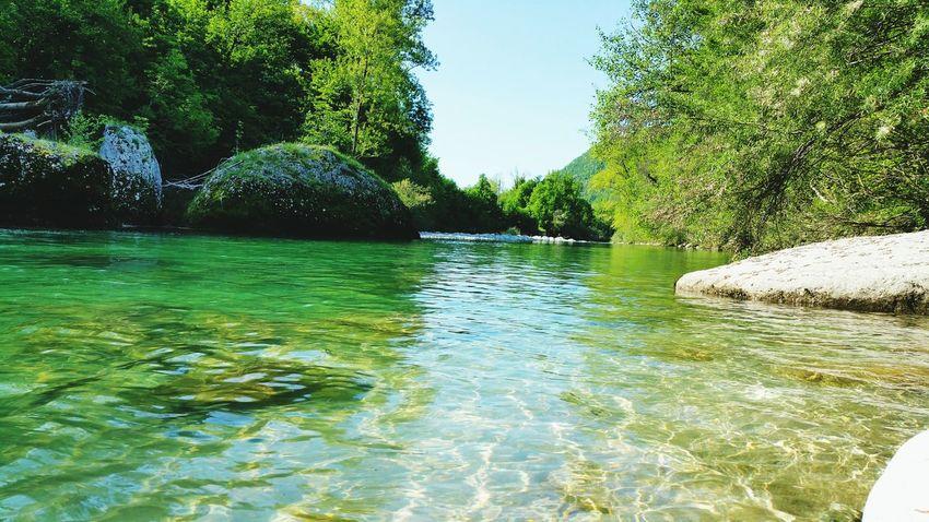 Natisone Tiglio River Fiume Friuli Venezia Giulia