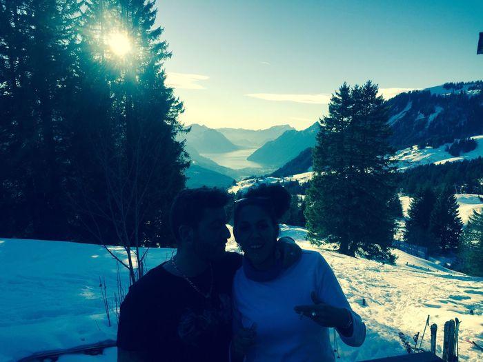 Ski et fête en Suisse. Génial. Enjoying Life