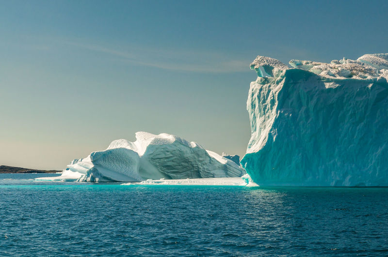 Greenland Iceberg Nature No People Outdoors