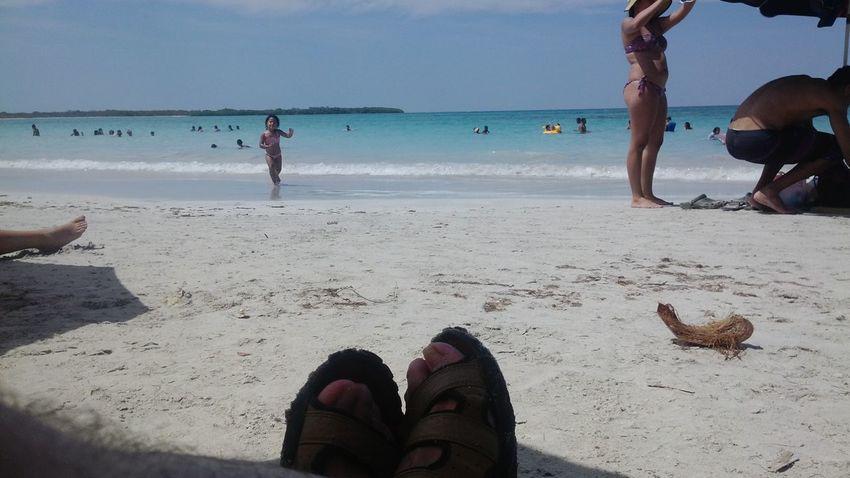 100% Relax Relaxing Beach Feet