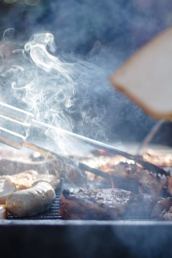 Rauch Fleisch Grillen Smoke - Physical Structure Close-up Day Food And Drink Food
